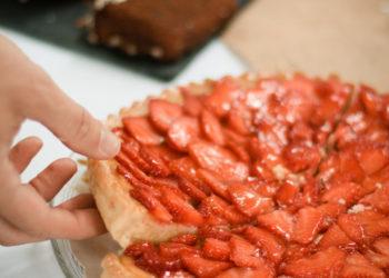 Patisserie lyon, tarte sucrée, tarte aux fraises, livraison de pâtisserie pour professionnels de la restauration, patisserie artisanale, dessert lyon, fabricant de dessert lyon, cookies, Anais Cookies & Cie