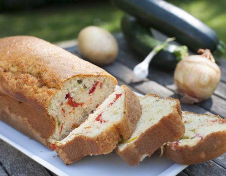 Cake aux poivrons Anais Cookies & Cie